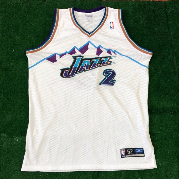 brand new 76de6 0f670 NBA Utah Jazz Deshawn Stevenson jersey authentic